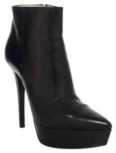 Prada 1tp146 Pointed Toe Black Boots