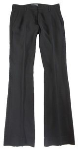 Prada 38 Black Dress Flat Lg Pants