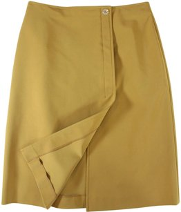 Prada 40 Butterscotch Skirt