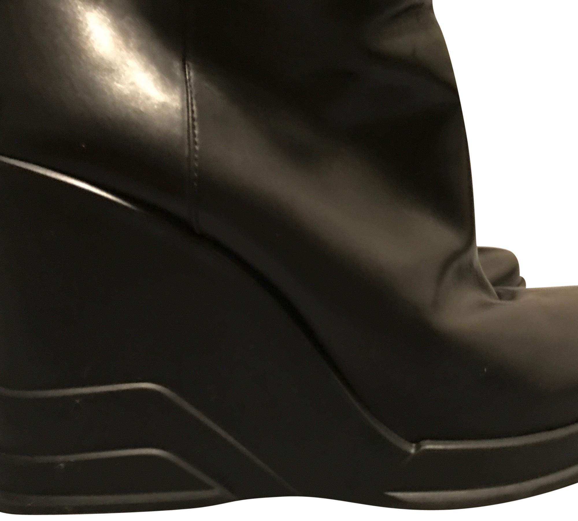 Prada Black Collector Boots/Booties Size US 7 Regular (M, B)