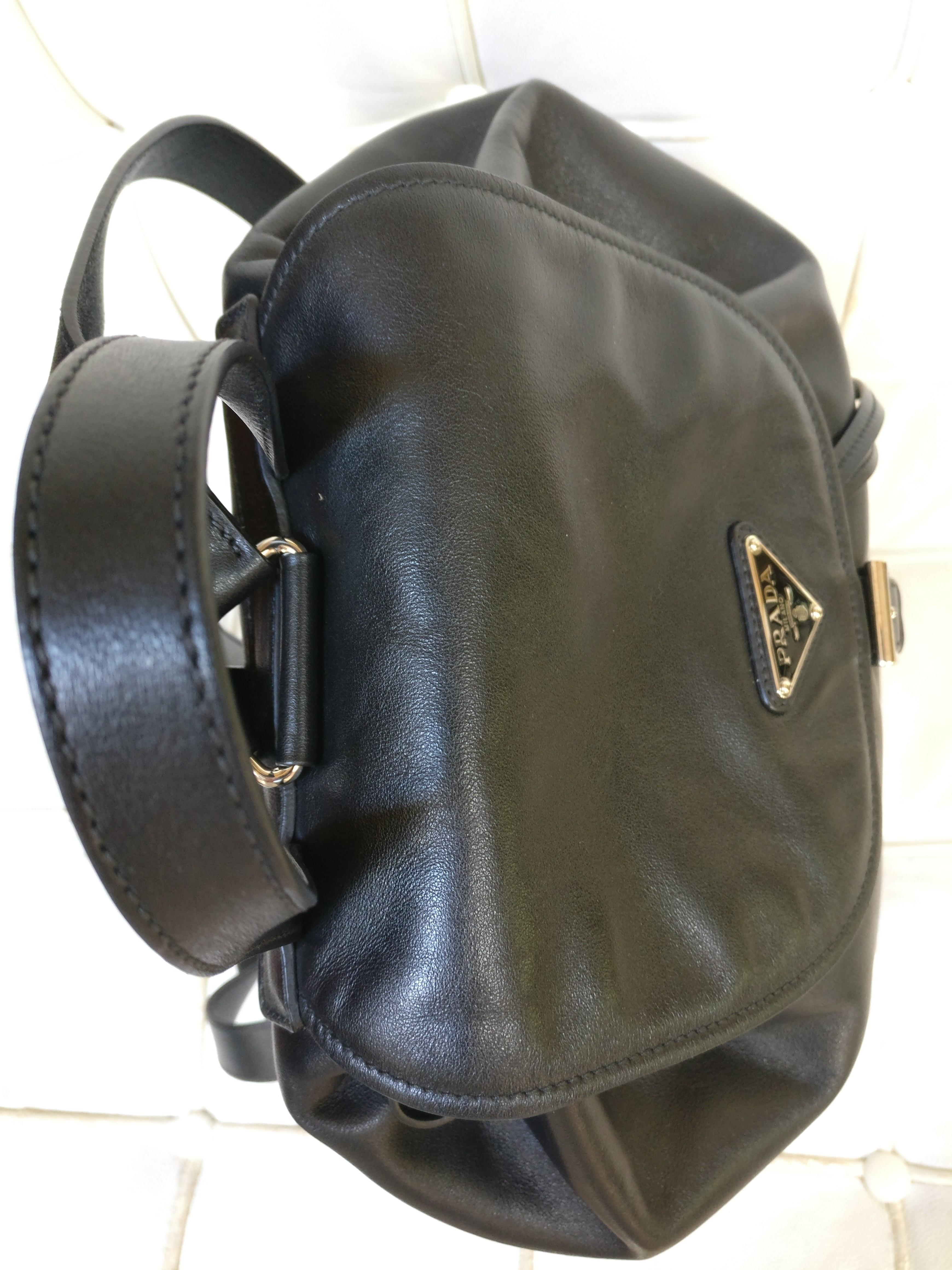 d20d1b110ee3 new zealand prada leather crossbody backpack. 123456789101112 bfaa6 26561