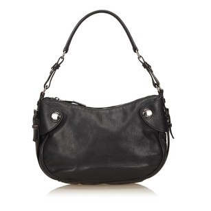 Prada Black Leather Others Shoulder Bag