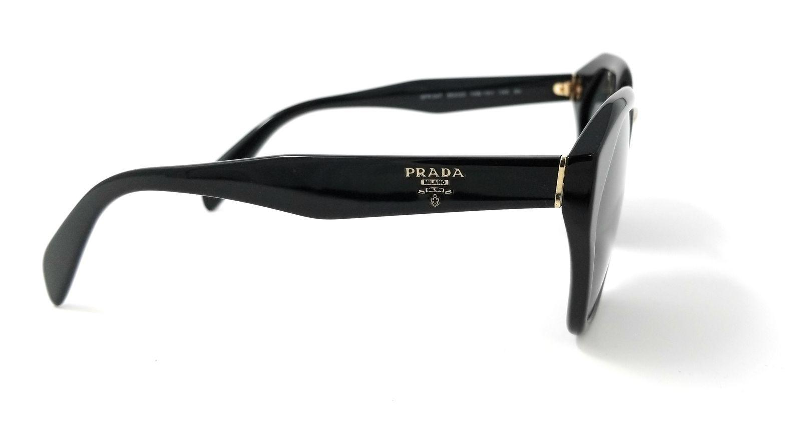 2c03d2427b31 ... spain prada black spr04ts 1ab1a1 black grey new sunglasses tradesy  d0740 dc65d