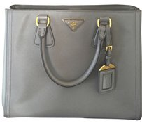 Prada Color Shoulder Tote in Nude & Beige two tone