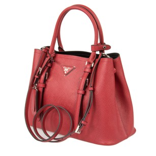 Prada Double Tote 1bg883 Shoulder Bag