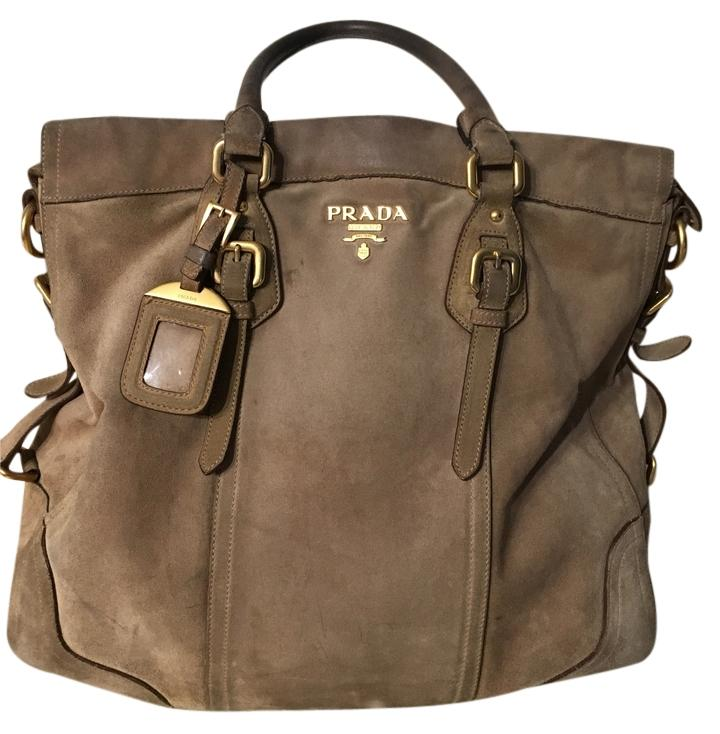 7d39388df43a ... ireland prada large city with gold hardware tote in tan nude bc5bd 5e43e