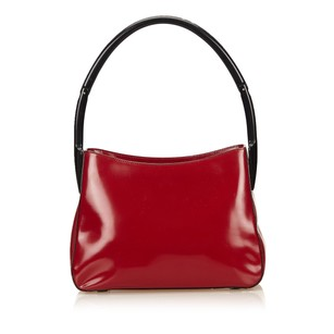 Prada Leather Others Plastic Shoulder Bag