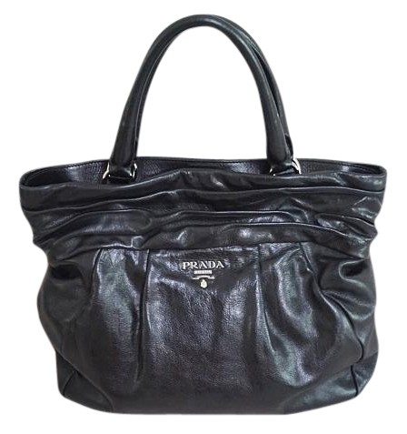 Prada Reduced Price Classic Black Tote Bag delicate - www ...