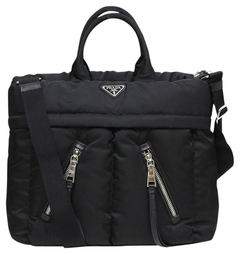 929c8f32dc7944 ... cheapest prada nylon travel black diaper bag dd3c2 8b4ff