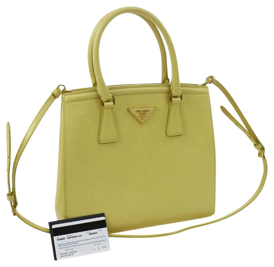 dd8f2dba29 ... inexpensive prada shoulder bag e5e13 0e5b2 amazon prada saffiano  leather medium tote bag bl5018 yellow ...