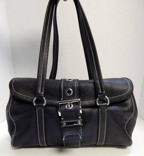 durable service Prada Black Leather Satchel Bag Italy - www ...