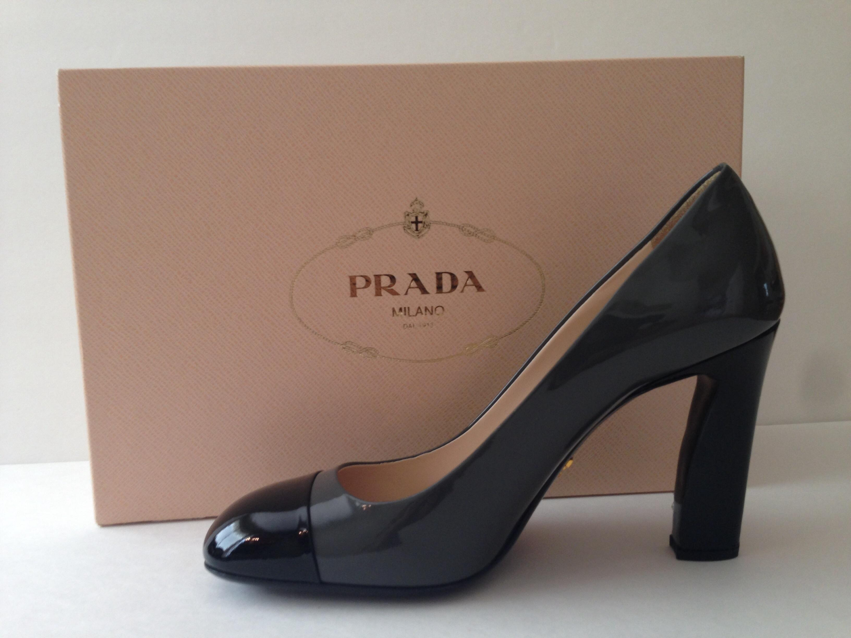 cheap sale from china Prada Vernice Bicolor Pumps free shipping high quality Rzx5h8HP1T