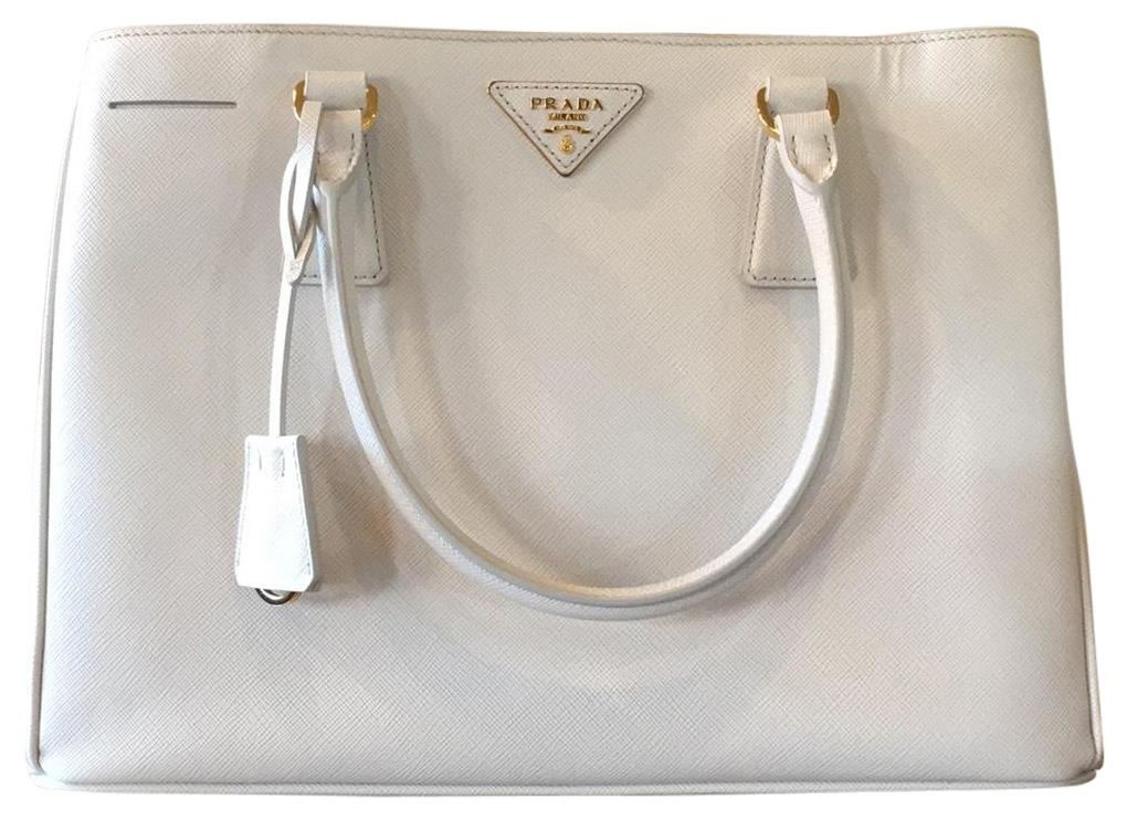 e322f699939d ... italy prada tote in white prada color called talco 44489 30da0