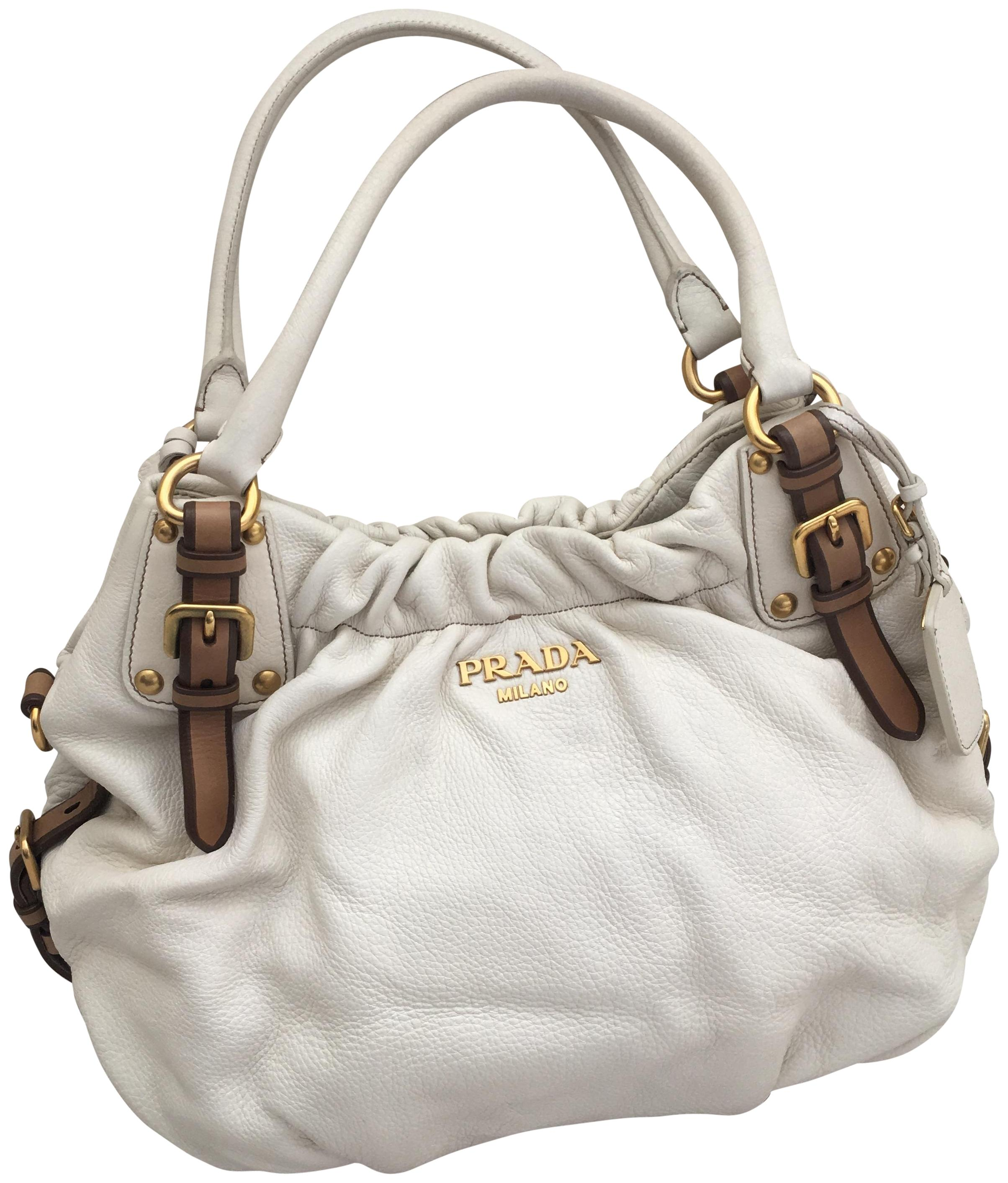 92c5bc627c60 ... hot prada deerskin tote in white ab436 d03a8