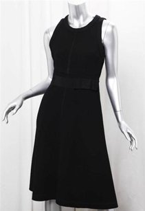 Prada Womens Classic Sleeveless Fitted 426 Dress