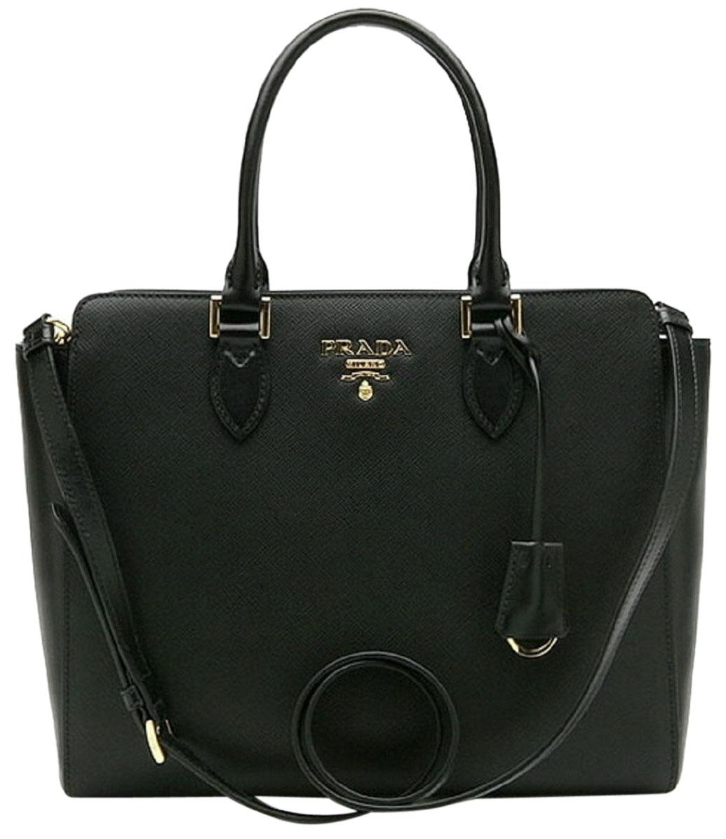 1108a8371ee9 buy prada handbags handbags saffiano lux satchel in black bc4f7 a12b4
