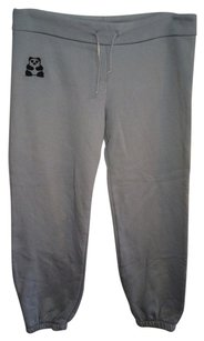 Primp Sweatpants, Sweats, Gray, Grey, Panda, Drawstring, Cropped, Elastic, Panda Bear, Comfy, Cute, Warm, Crop