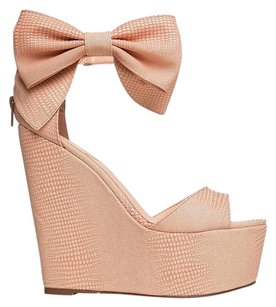 Privileged Pink Wedges