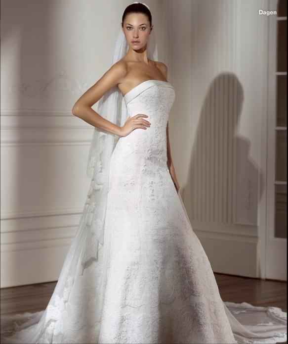 Dagen Pronovias Real Brides Pictures To Pin On Pinterest