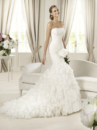 Pronovias Off White Davinia Wedding Dress Size 12 (L)