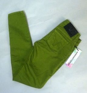 PRVCY Chartreuse Skinny Jeggings Skinny Jeans