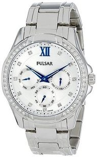 Pulsar Pulsar Stainless Steel Chronograph Ladies Watch Pp6099