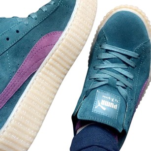 Puma Green and Bordeaux Athletic