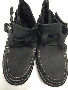 Quoddy Moccasin Womens Black Flats