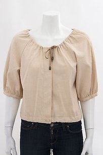 Rachel Comey Cream Top Beige