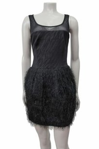 Rachel Roy Rachel Burlesque Sleeveless Mesh Yoke Dress
