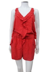 Rachel Roy Ruffle Trim Cross Back Dress
