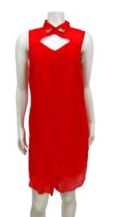 Rachel Roy short dress Red High Neck Sequined on Tradesy