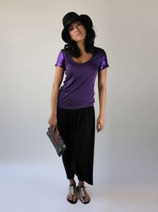 Rachel Roy Top Purple
