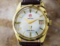 Rado Rado Vintage Swiss Golden Horse Gold Plated Automatic Mens Watch 1960s D54