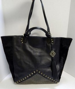 Rafe York Leather Calf Tote in Black