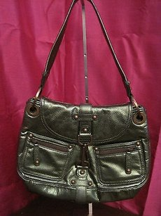 Rafe Metallic Leather Purse Shoulder Bag