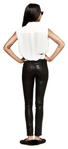 Rag & Bone Coated Pant Skinny Jeans-Dark Rinse