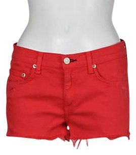 Rag & Bone Denim Cut Off Cut Off Shorts Pink