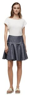 Rag & Bone Indigo A-line Skirt Denim