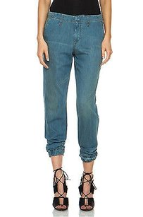 Rag & Bone Blue Denim Relaxed Fit Jeans