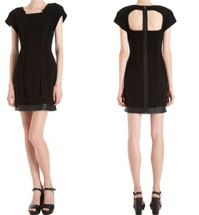 Rag & Bone Square Neck Cap Sleeve Dress