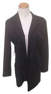 Ralph Lauren Silk Suit Black Jacket