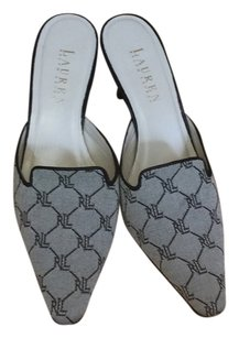 Ralph Lauren Black & Gray Pumps