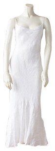 Ralph Lauren Black Label Linen Spaghetti Strap Mermaid Hs2466 Dress
