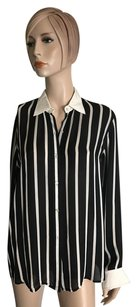 Ralph Lauren Button Down Shirt Black White