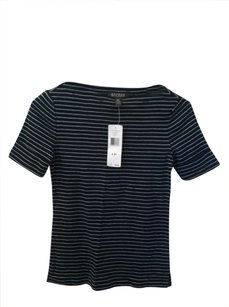 Ralph Lauren T Shirt Dark Blue White Stripe