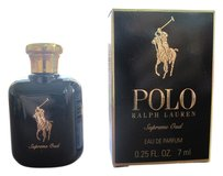 Ralph Lauren POLO Ralph Lauren Supreme Oud Eau De Parfum Deluxe .25 FL.OZ/7 ml New in Box for Gentleman