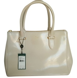 Ralph Lauren Satchel in Ivory
