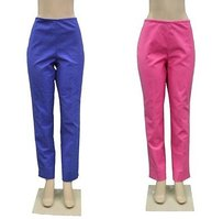 Ralph Lauren Pinkblue Colored Set Of Stretch Fit 190565al Pants