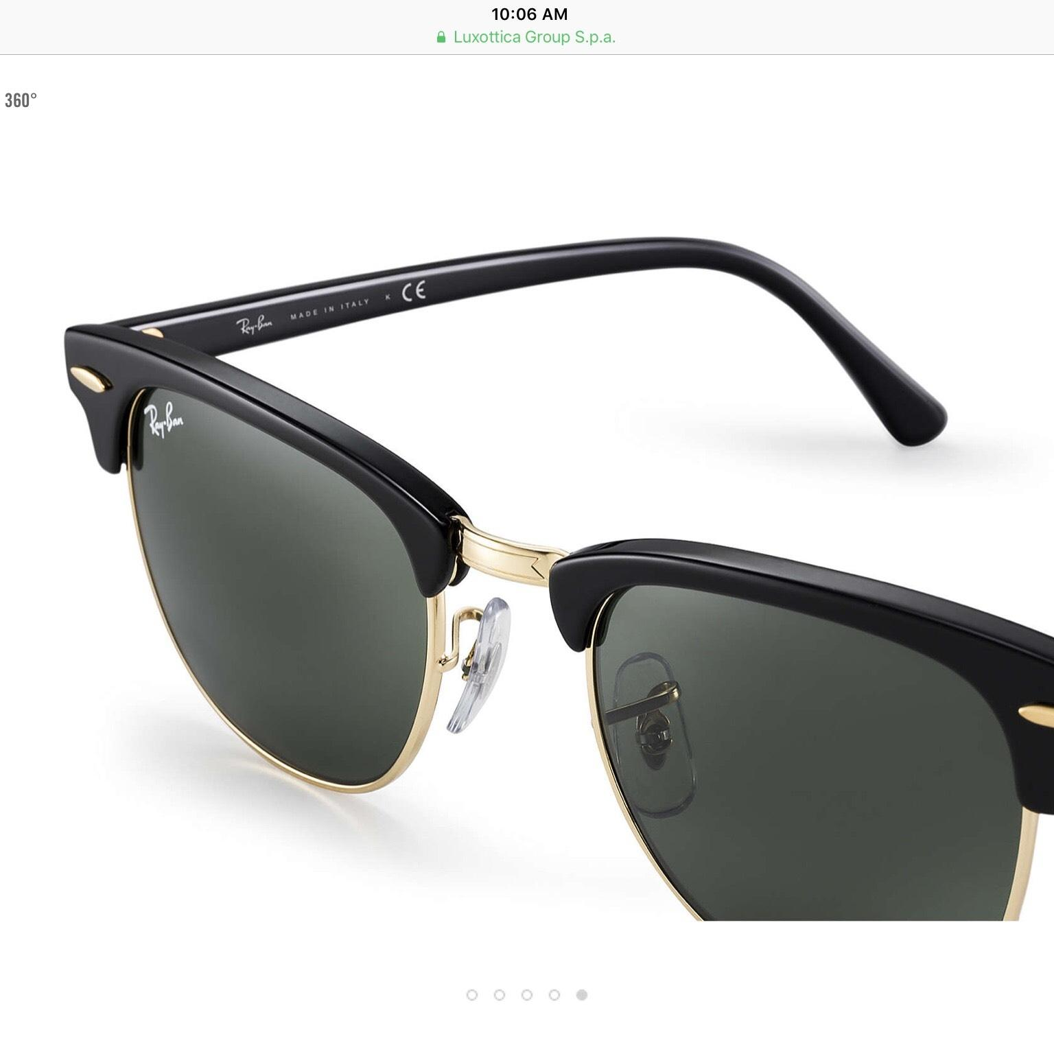 ray ban master classic